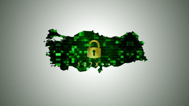 4K Türkei Karte und Hacking