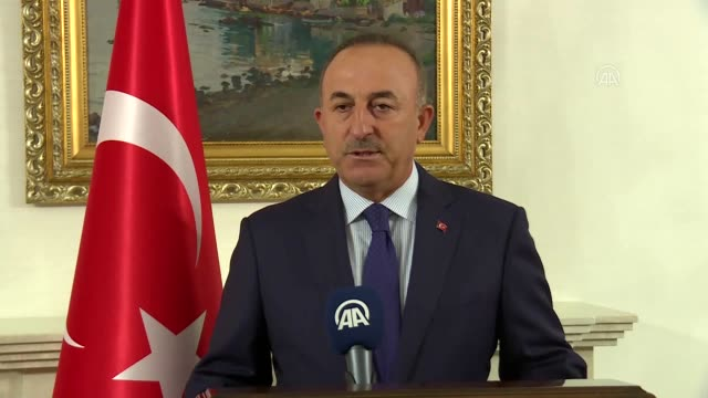 turkey on friday summoned greece's envoy to the country over a despicable headline in a greek newspaper about the turkish president, the country's... - grecia stato video stock e b–roll