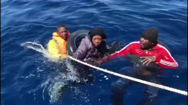 turkey on thursday rescued 27 asylum seekers, including women and children, who were pushed back by greek forces into turkish territorial waters,... - rescue stock videos & royalty-free footage