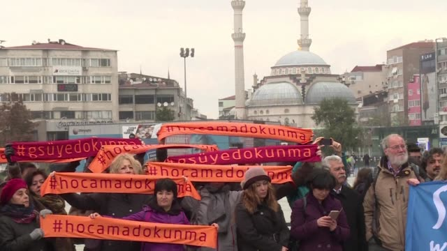 Turkey on Tuesday began a hugely controversial trial against a group of academics charged with terror offences for signing a petition almost two...