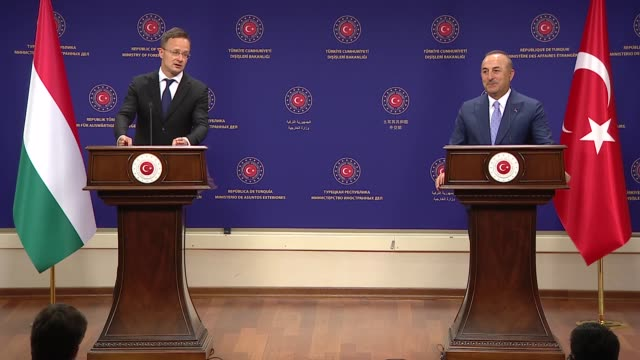 """turkey on tuesday urged concrete progress"""" on a political solution and new constitution for civil wartorn syria to end the suffering of the syrian... - southern european stock videos & royalty-free footage"""