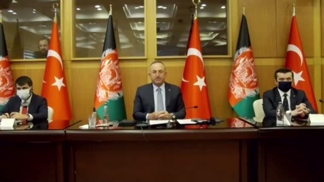 """turkey will continue to contribute to the development and security of afghanistan, the country's foreign minister said monday. """"we continue to... - 12 17 months stock videos & royalty-free footage"""