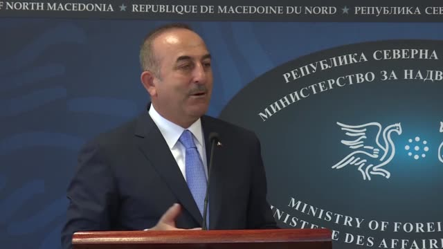 turkey will increase its activities in the eastern mediterranean and it will send 4th ship to the region turkish foreign minister mevlut cavusoglu... - adoption stock videos & royalty-free footage