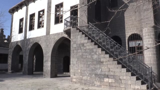 turkey will restore two historical churches that were damaged in pkk attacks four years ago annan ertem directorgeneral of the foundations department... - 16 17 years stock videos & royalty-free footage