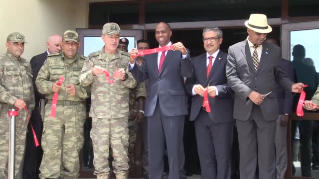 Turkey's biggest military training base was inaugurated on Saturday in Mogadishu with the participation of the Somali Prime Minister