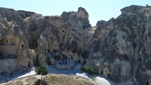 turkey's central cappadocia region takes its visitors on a journey through stunning landscapes rich with treasures both natural and cultural there is... - unesco stock videos & royalty-free footage