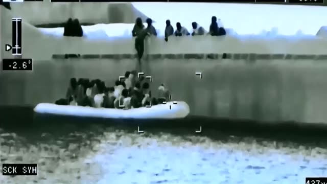 turkey's coast guard captures illegal migrants, mainly syrian got caught as they were trying to go to european countries by mongolian-flagged cargo... - undocumented immigrant stock videos & royalty-free footage