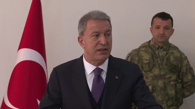 turkey's defense minister said thee of four f35 military aircraft were delivered by the us and the last one is expected to be delivered friday in... - kosovo stock videos & royalty-free footage