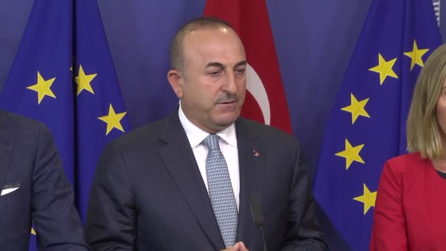Turkey's foreign minister has said being a journalist does not entitle an individual to commit crime Mevlut Cavusoglu was speaking in Brussels on...