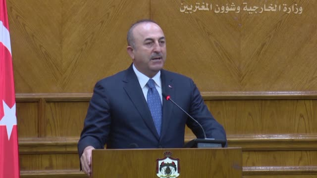 Turkey's foreign minister on Monday warned against any intervention by Syrian pro government forces alongside Kurdish militias in northern Syria...