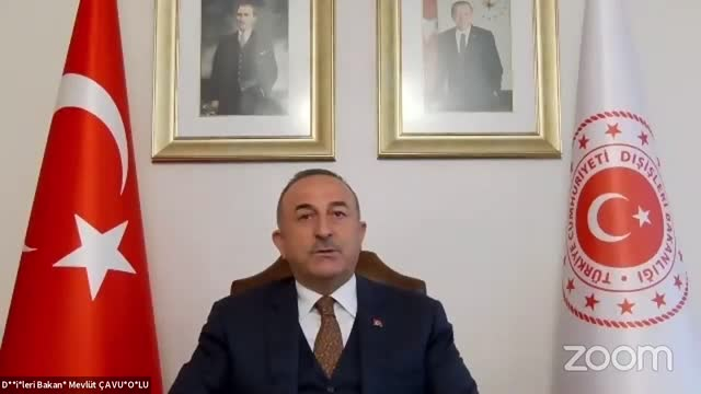 """vídeos de stock e filmes b-roll de turkey's foreign minister said on thursday that eu and turkey were trying to create a """"positive atmosphere"""" amid recent tensions with some members of... - eastern european culture"""