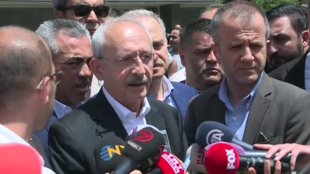 """turkey's main opposition party leader on saturday supported the country's decision to buy russian s-400 missile defense systems. """"if turkey's past... - main course stock videos & royalty-free footage"""