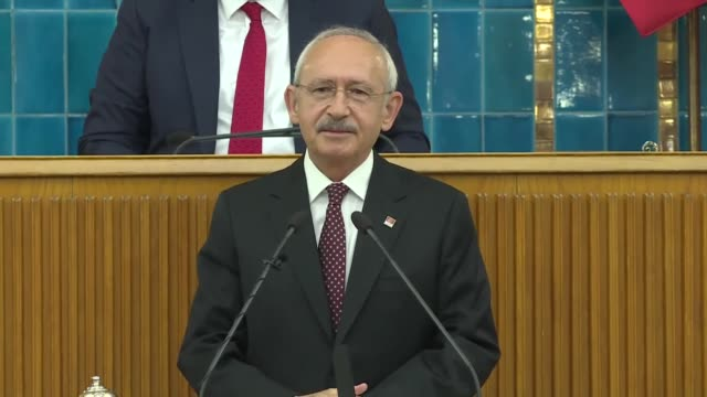 turkey's main opposition republican people's party leader kemal kilicdaroglu on tuesday lashed out at the circumstances surrounding the funeral of... - legal defense stock videos and b-roll footage