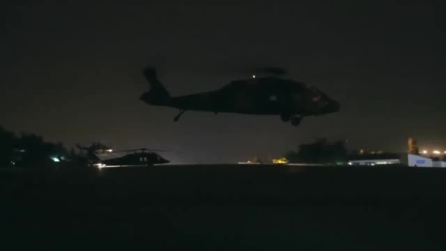 turkey's national defense ministry shared images late wednesday of turkishmade helicopters targeting terrorists in northern iraq's haftanin region... - sinjar stock videos & royalty-free footage