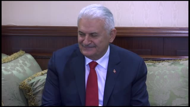 turkey's parliament speaker binali yildirim on friday said constructive steady and stable cooperation between azerbaijan and turkey sets a good... - union army stock videos & royalty-free footage