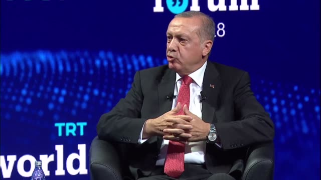 turkey's president on thursday called for serious reform of the united nations security council, which he said should have representation from... - world war ii stock-videos und b-roll-filmmaterial