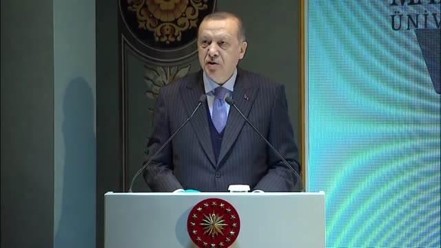 Turkey's President Recep Tayyip Erdogan said on January 12 2018 the Fetullah Terrorist Organization had destroyed the future of the nation FETO and...