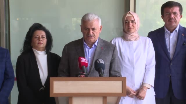 turkey's prime minister on july 22 2017 said three abandoned buildings had collapsed in southwestern resort of bodrum as a result of friday's 66... - mugla province stock videos & royalty-free footage