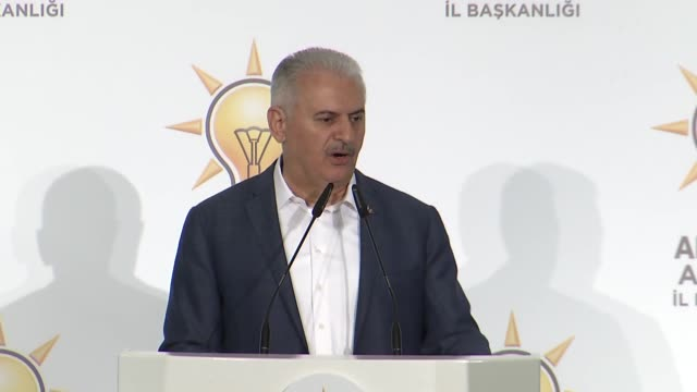 turkey's prime minister on saturday criticized the main opposition republican people's party presidential candidate for not addressing the fight... - us republican party 2016 presidential candidate stock videos & royalty-free footage
