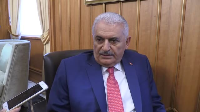 "turkey's prime minister on wednesday said moves to hold planned early elections would start immediately ""the [planned election] process will start... - minister president stock videos and b-roll footage"