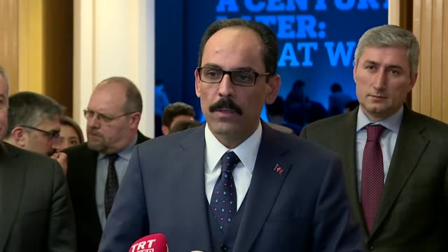"Turkey's steps to protect its national security are ""definitely"" not a move against Syrian Kurds said Turkey's presidential spokesman on on January..."