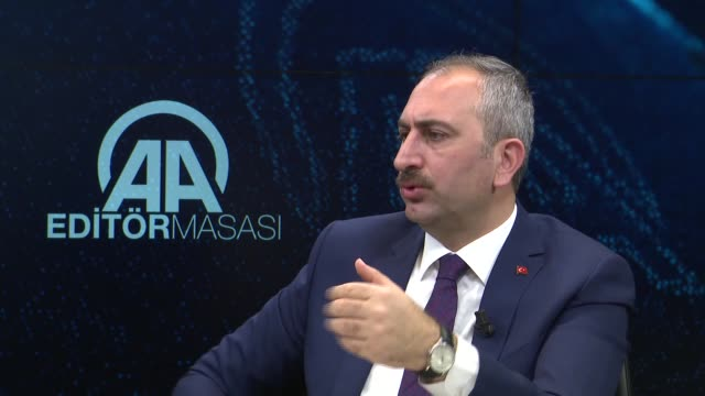turkey's top priority is to enhance confidence in the judiciary by resolving problems caused by fetullah terrorist organization the group behind the... - law stock videos & royalty-free footage