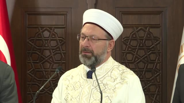 turkey's top religious authority has suspended all congregational prayers in mosques including traditional friday prayers to help stem the spread of... - wuhan stock-videos und b-roll-filmmaterial