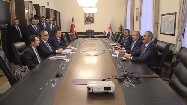 Turkey's two major political parties' representatives meet to discuss a possible electoral alliance for the next presidential elections on January 18...