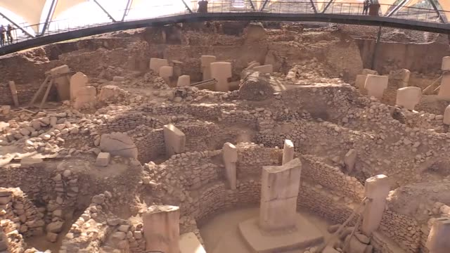 Turkish ambassador in Beijing Abdulkadir Emin Onen speaks in an interview at Gobeklitepe The allure of the world's oldest known temple in...