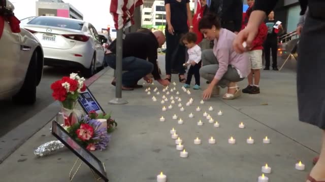 turkish americans gathered at a vigil for the victims of the istanbul terror attack at the turkish consulate in los angeles. footage includes... - suicide bombing stock videos & royalty-free footage
