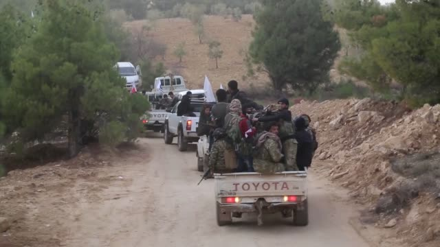 Turkish Armed Forces jointly with the Free Syrian Army extended the recently launched Operation Olive Branch to Azaz district east of Afrin in Syria...