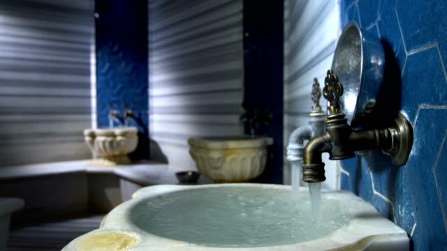 vídeos y material grabado en eventos de stock de baño turco hamam - balneario