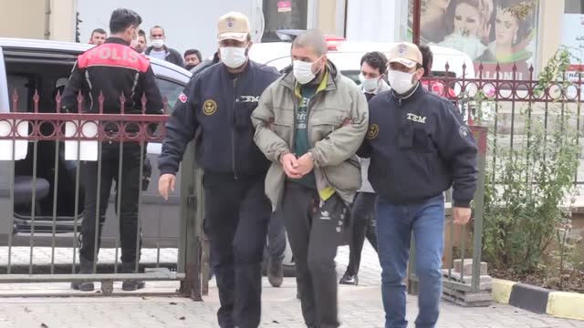 turkish border guards on monday nabbed a french-origin terrorist, sought with a red notice, trying to cross into turkey via the country's southern... - red stock videos & royalty-free footage