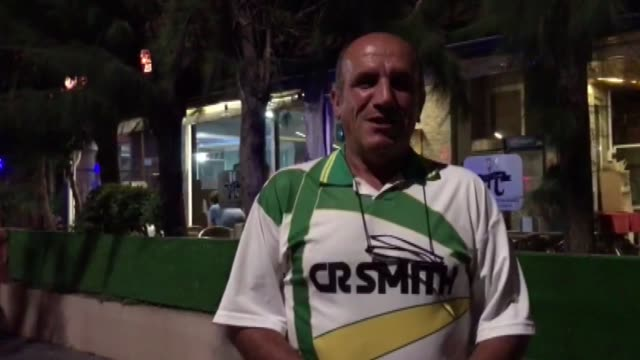 turkish citizens seen at the streets of marmaris district of mugla western turkey after a magnitude63 earthquake hit the aegean sea near the turkish... - marmaris stock videos & royalty-free footage