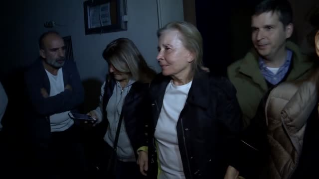 turkish court on monday ordered release of two convicted members of fetullah terror group under judicial control nazli ilicak who was sentenced to... - prison release stock videos & royalty-free footage