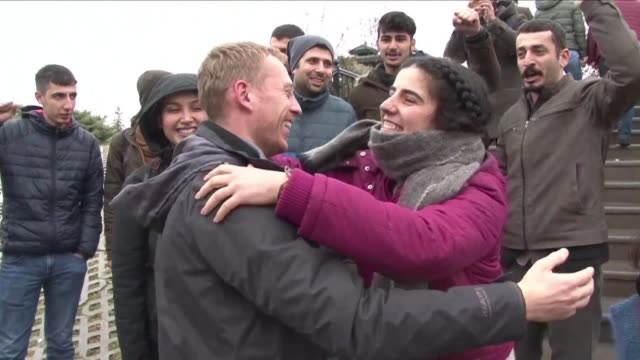 a turkish court ordered the release pending trial of austrian student and journalist max zirngast charged with being a member of a terror group - austrian culture stock videos & royalty-free footage
