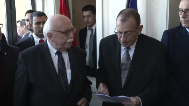 stockvideo's en b-roll-footage met turkish culture and tourism minister nabi avci attends the opening ceremony of the 23rd international mediterranean tourism market at tlv convention... - turks fruit