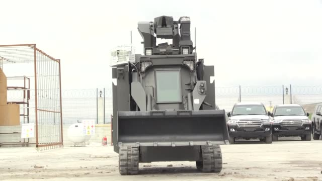turkish defense company, best grup, is set to export its military vehicle's remote control systems to the u.s. and the uae in the near future, an... - military land vehicle stock videos & royalty-free footage
