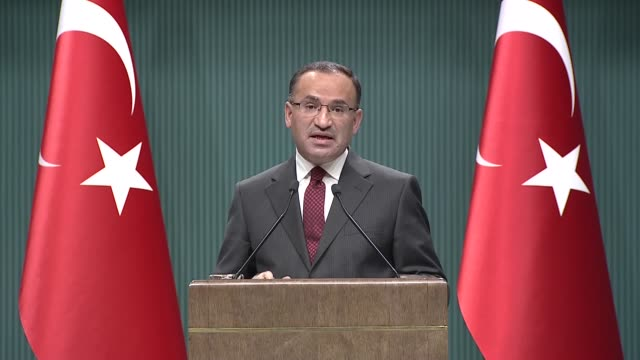 Turkish Deputy Prime Minister and government spokesman Bekir Bozdag on Monday called Syrian staterun news agency reports on proregime militia...