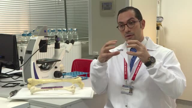 Turkish doctor has secured a patent for an innovative new bonelengthening technique to help cancer and accident victimsThe technique invented by Dr...