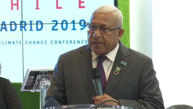 turkish environment and urbanisation minister murat kurum fijian prime minister frank bainimarama and executive director of unhabitat maimunah mohd... - pacific islands stock videos & royalty-free footage