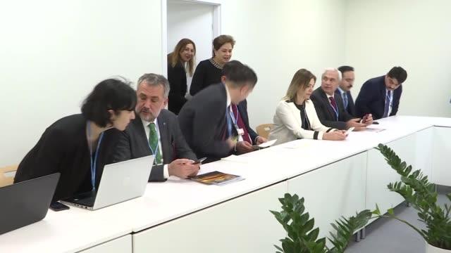 Turkish Environment and Urbanization Minister Murat Kurum meets with Patricia Espinosa Cantellano Executive Secretary of the United Nations Framework...