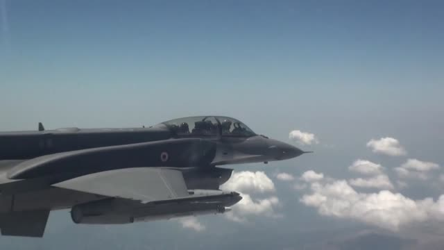 """turkish fighter jets """"neutralized"""" four pkk terrorists in northern iraq, according to the turkish national defense ministry on tuesday. air-backed... - authority stock videos & royalty-free footage"""
