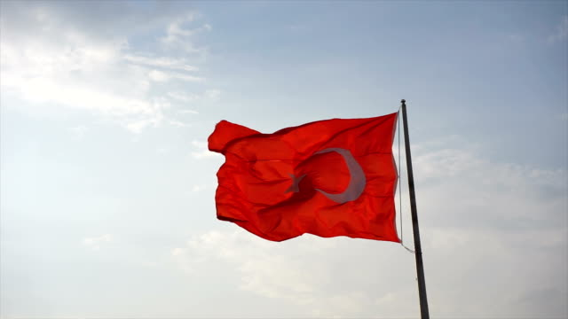 turkish flag - hsyncoban stock videos and b-roll footage