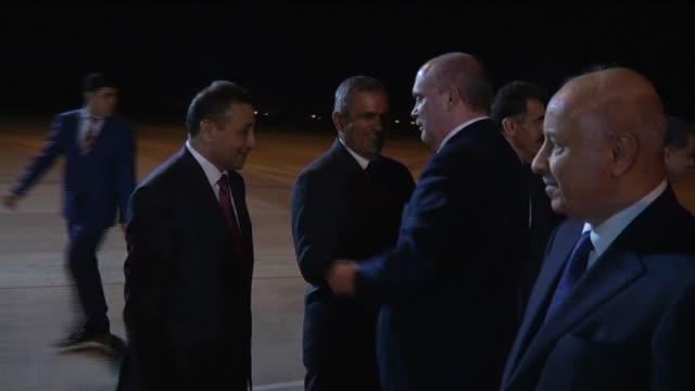 turkish foreign minister feridun sinirlioglu meets with iraqi prime minister nechervan barzani in arbil iraq on november 03 2015 - iraqi prime minister stock videos & royalty-free footage