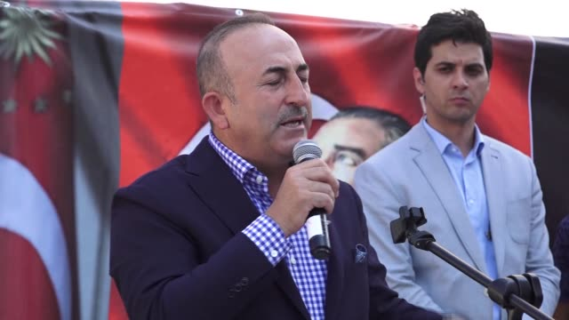 turkish foreign minister mevlut cavusoglu called bangladesh on friday to open its doors for rohingya muslims fleeing violence in myanmar's western... - mediterranean turkey stock videos and b-roll footage