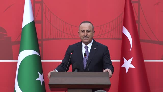 turkish foreign minister mevlut cavusoglu on thursday inaugurated the country's new consulate building in pakistan's commercial capital karachi.... - development stock videos & royalty-free footage