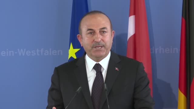 turkish foreign minister mevlut cavusoglu speaks at a commemoration ceremony marking the 25th anniversary of the 1993 racist arson attack in... - 14 15 years stock videos & royalty-free footage