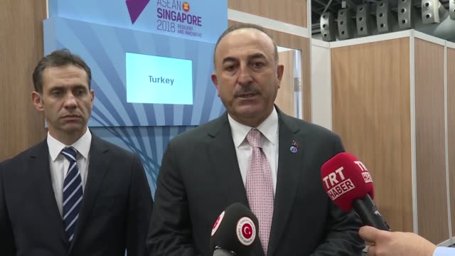 Turkish foreign minister Mevlut Cavusoglu terms meeting with US counterpart Mike Pompeo 'constructive' saying Ankara Washington will continue to work...