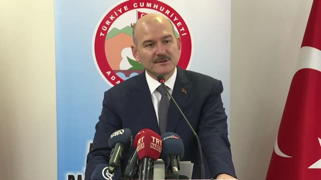 turkish interior minister on thursday said pkk terrorist group controls 80 percent of drug trade in europe earning around $15 billion per year... - pct stock videos and b-roll footage